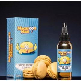 Macaroon Man TPD - Huckleberry Lemon 50ML
