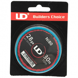UD Roll Coils Ni80 28GA (0.30mm) 10m