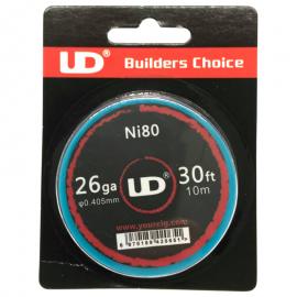 UD Roll Coils Ni80 26GA (0.40mm) 10m