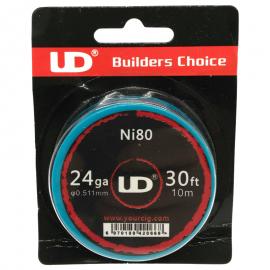UD Roll Coils Ni80 24GA (0.50mm) 10m