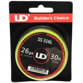 UD Roll Coils Acciaio SS 316L 26GA (0.40mm) 10m