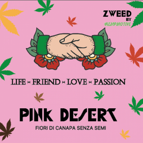 ZWEED By Hempmotive - Pink Desert 1gr.