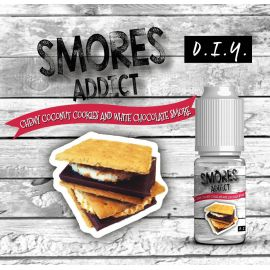 Smores Addict - Chewy Coconut Cookies and White Chocolate Smore 10ML