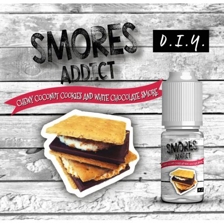 Smores Addict - Aroma Chewy Coconut Cookies and White Chocolate Smore 10ML