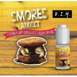 Smores Addict - Churros and Vanilla Ice Cream Smore 10ML