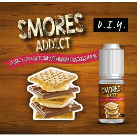 Smores Addict - Aroma Classic Chocolate Chip and Graham Crackers 10ML