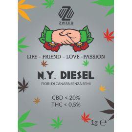 ZWEED - NY Diesel 1Gr.