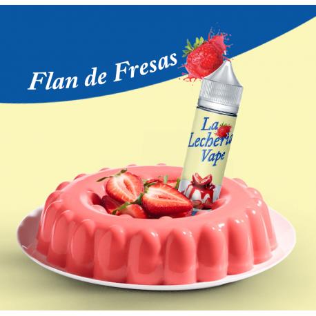 La Lecheria Vape - Flan de Fresas (Scomposto) 20ML