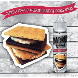 Smores Addict - Chewy Coconut Cookies and White Chocolate Smore (Scomposto) 20ML