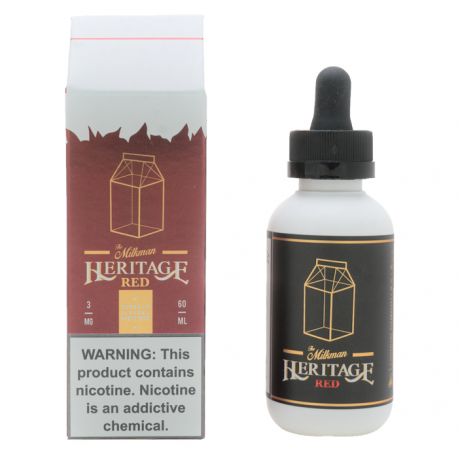 The Milkman - Heritage Red 50ML - Vapexpress Italia d7399fe94e