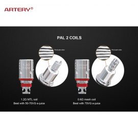 Artery - COIL PAL 2 (Pack 5 Coil)