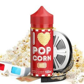 Mad Hatter - I Love Popcorn 80ML