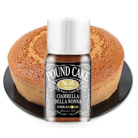 Dreamods - Pound Cake No.58 Aroma Concentrato 10 ml