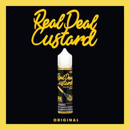 Real Deal Custard - Original 20+30ML (Scomposto)