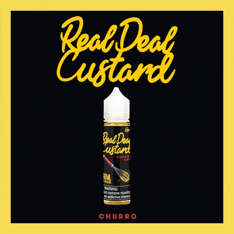 Real Deal Custard - Churro 20+30ML (scomposto)