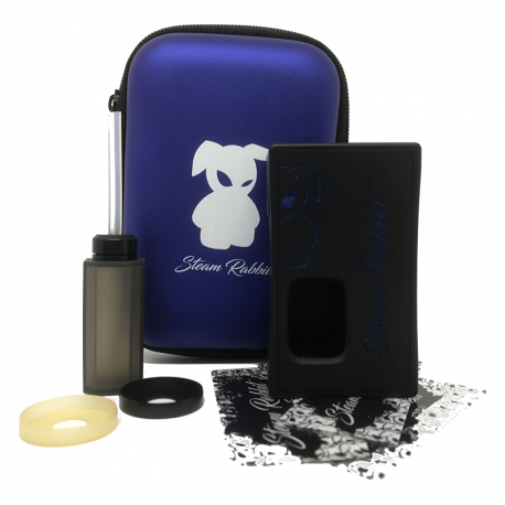 Steam Rabbit - 3D Black/Blue BF Mod
