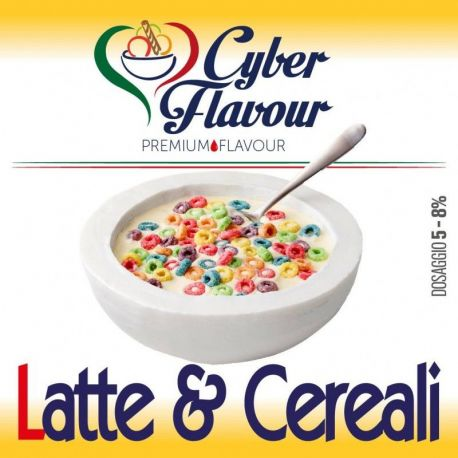 Cyber Flavour - Aroma Latte & Cereali 10ML