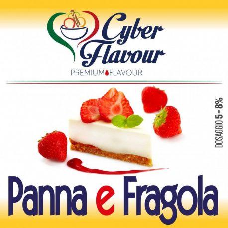 Cyber Flavour - Aroma Panna e Fragola 10ML
