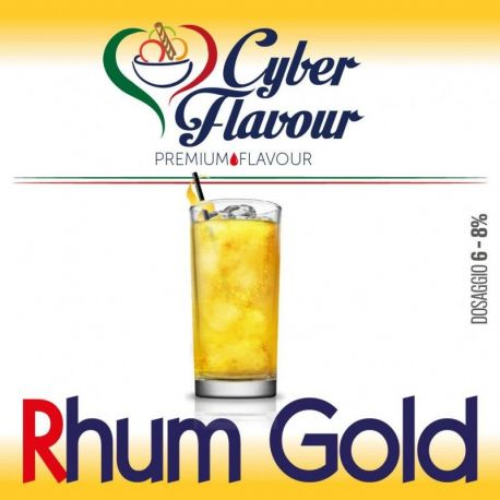 Cyber Flavour - Aroma Rhum Gold 10ML