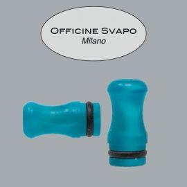 Officine Svapo Milano - Drip Tip Mod. CALIPSO Metacrilato Verde Smeraldo