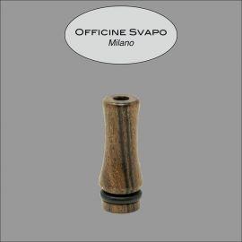 Officine Svapo Milano - Drip Tip Mod. ZEUS Palissandro Corto Tondo