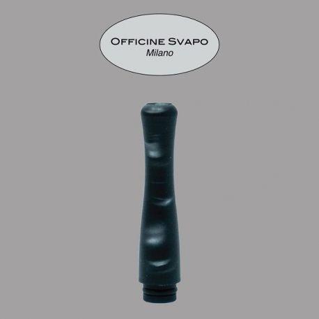 Officine Svapo Milano - Drip Tip Mod. POSEIDONE Metacrilato Nero/Grigio Madreperla