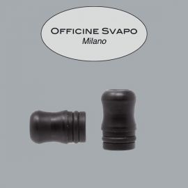 Officine Svapo Milano - Drip Tip Mod. OFFICINE Metacrilato Grigio Scuro Madreperla