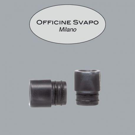 Officine Svapo Milano - Drip Tip Mod. LAERTE Metacrilato Grigio Scuro Madreperla